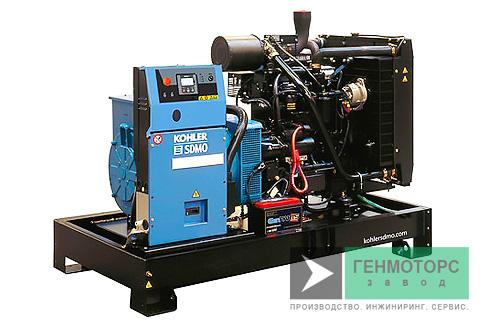 Дизельный генератор (электростанция) SDMO J110K